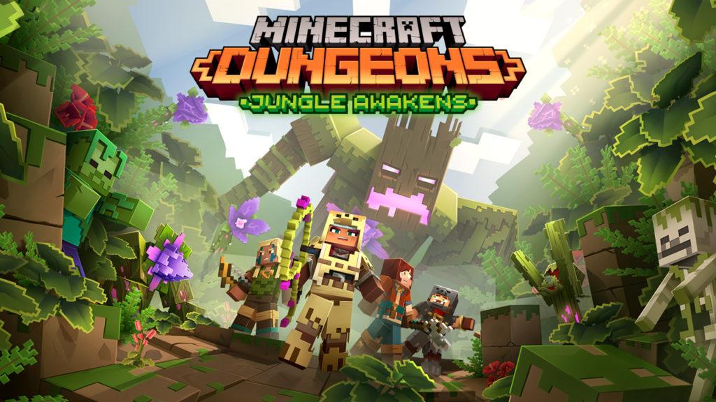 Minecraft Dungeons Jungle Awakens DLC